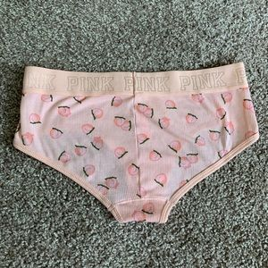 NWT PINK by Victoria's Secret Peach Panty